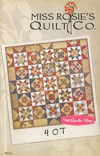 Fat Quarter Shop's Jolly Jabber: New Patterns from Miss Rosie's Quilt Co