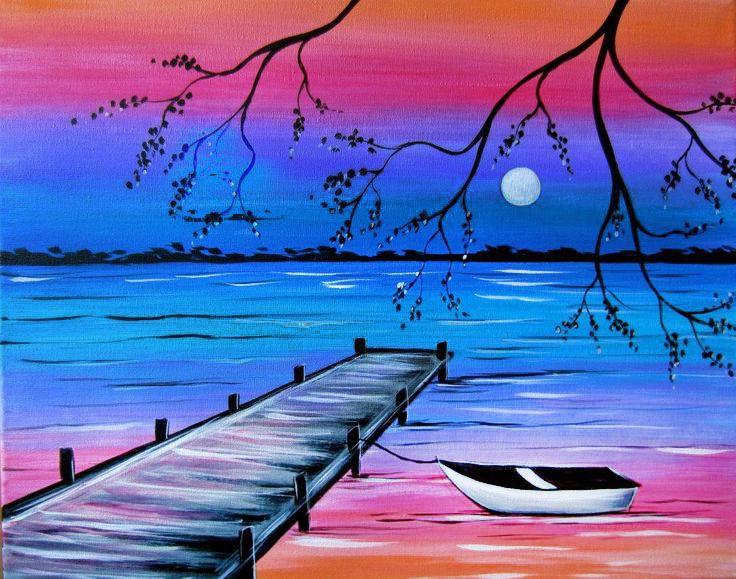 Resultat dimatges de paisajes bonitos para dibujar a color  perro  Paisajes bonitos para dibujar Dibujos para pintar paisajes y Paisajes para