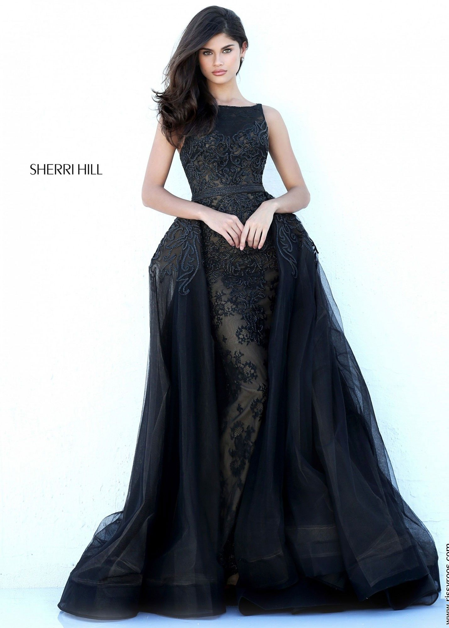Sherri Hill 50768 Regal Lace Gown