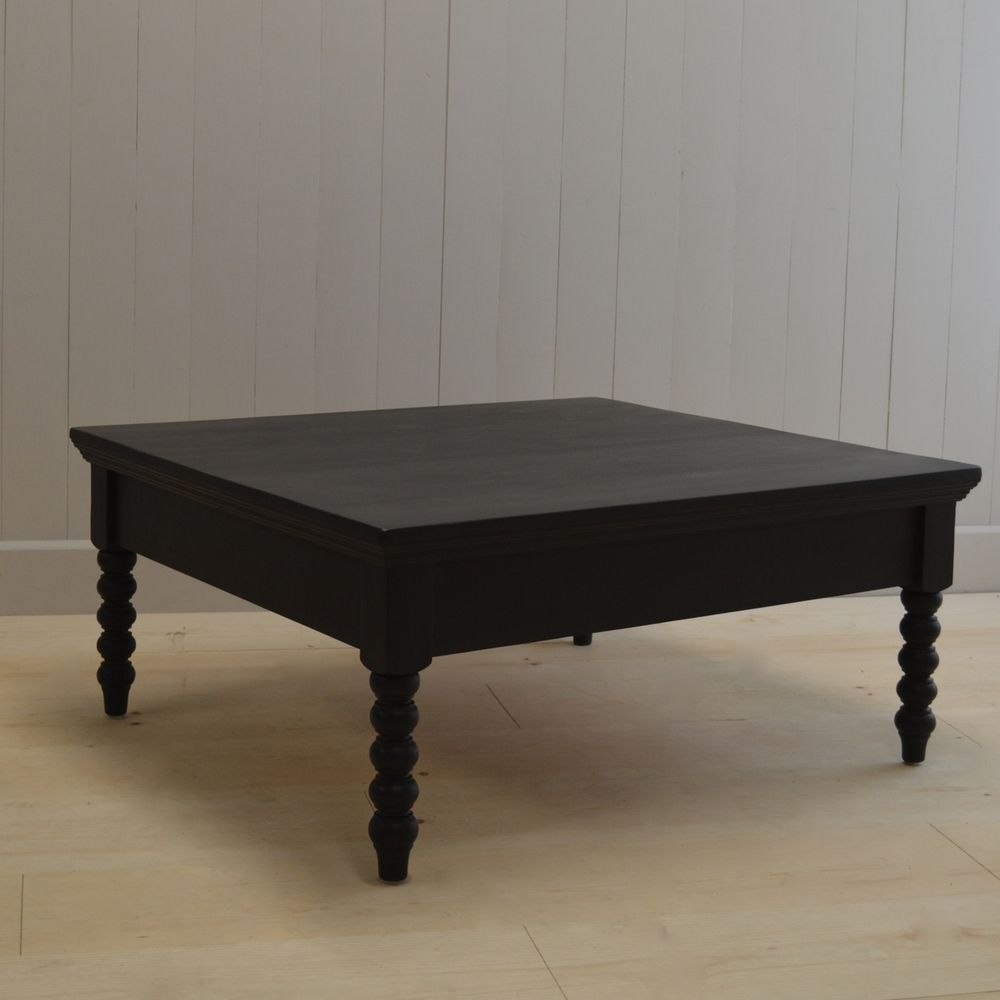 Modern Farmhouse Spindle Coffee Table   English Farmhouse Furniture   Ann  Bradshaw Kirchofer