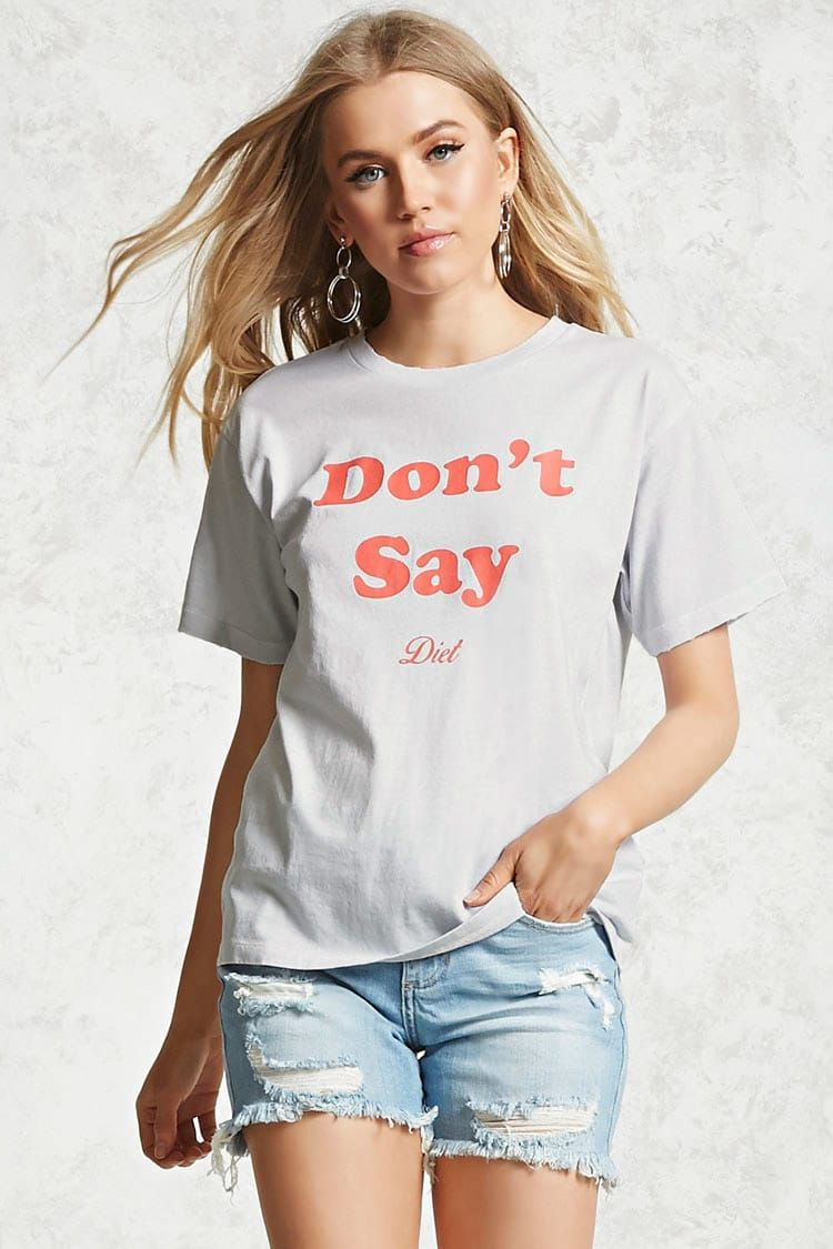 Dont Say Diet Graphic Tee