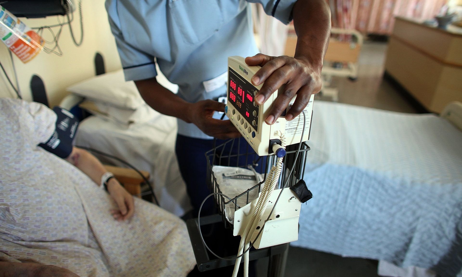 Huge Rise In Hospital Beds In England Taken Up By People With