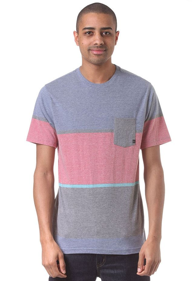 #planetsports QUIKSILVER - Stick And Move S/S T-Shirt bright colbalt