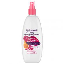 Productos Para El Cuidado De Tu Bebé Johnson S Aceite Para El Cabello Spray Cabello Suave