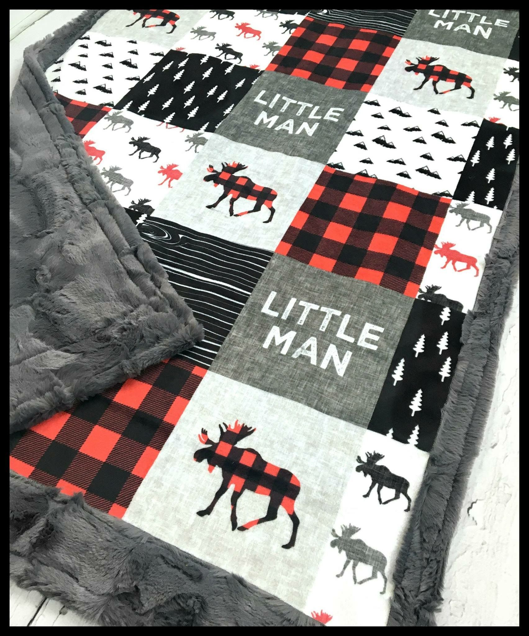 Little man easy baby blanket Baby boy quilts, Boy quilts