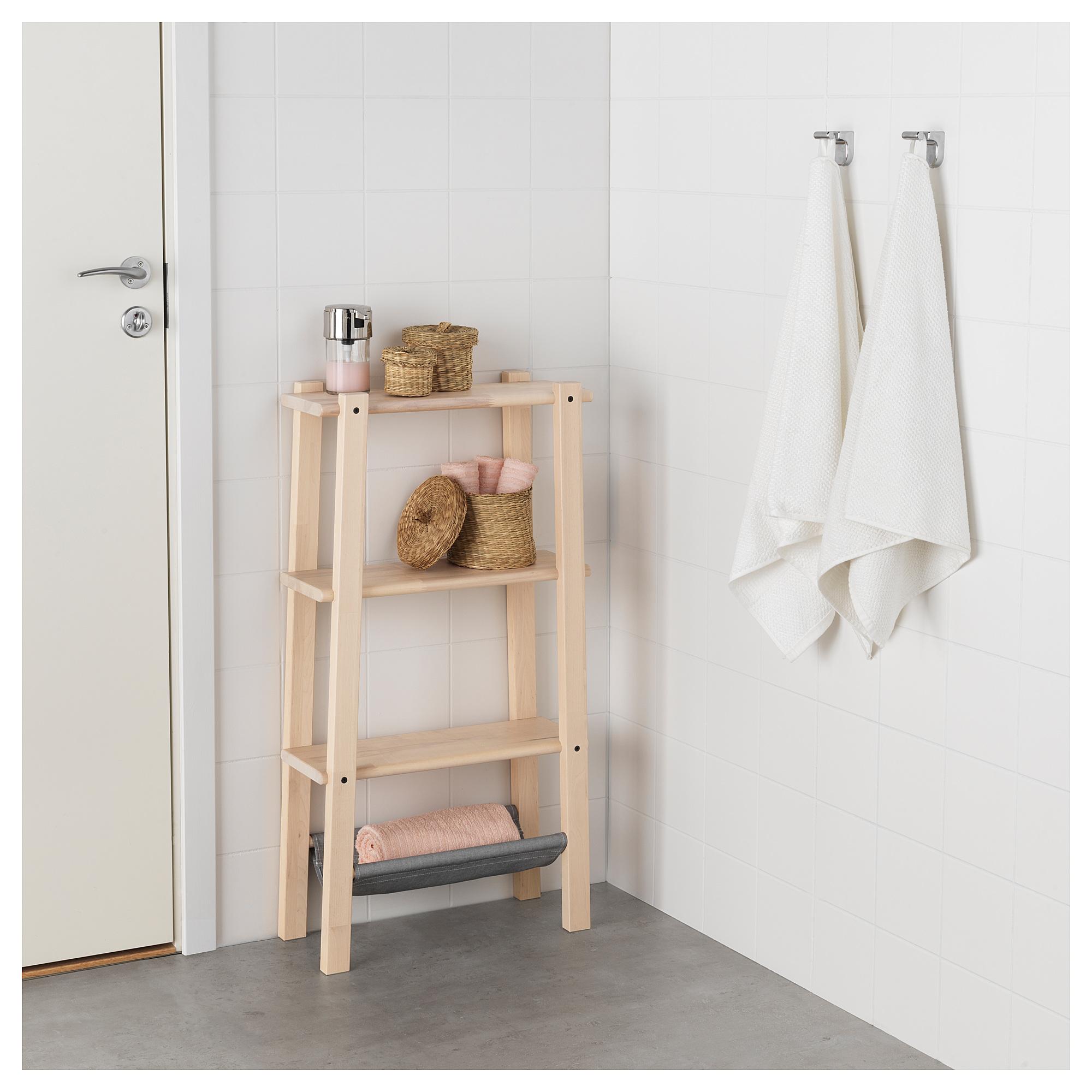 Ikea Vilto Shelf Unit Birch