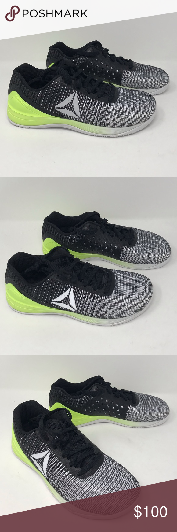 8c0ba838194 Reebok Crossfit Nano 7 Training Shoes - Women Reebok Crossfit Nano 7  Training Shoe - Women s Size  8.5 Color  Black   White   Electric Flash  Condition  New ...