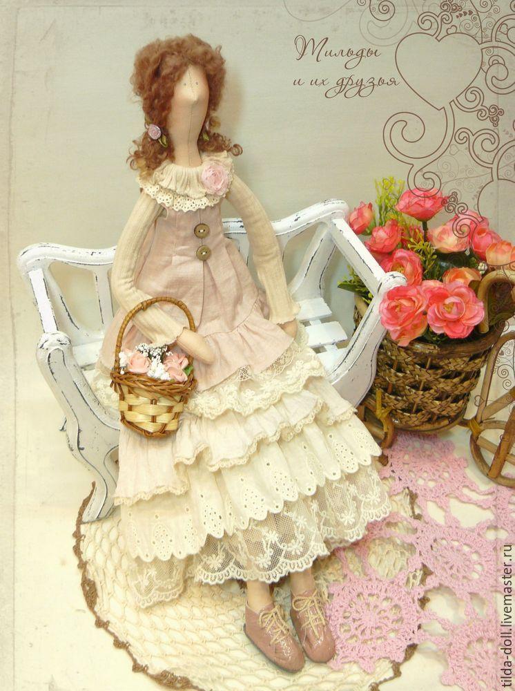 Купить Кукла в стиле Бохо: Лисса - тильда, кукла Тильда, куклы тильды, текстильная кукла