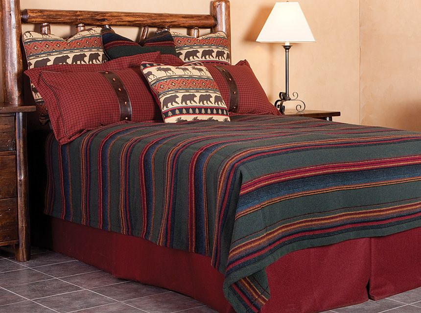 Western Bedding Rustic furniture stores, Western living