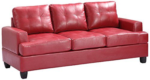 Glory Furniture G589A-S Living Room Sofa, Red  http://www.furnituressale.com/glory-furniture-g589a-s-living-room-sofa-red/