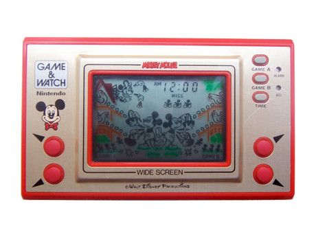 I think I had this Mickey Nintendo Game & Watch too.