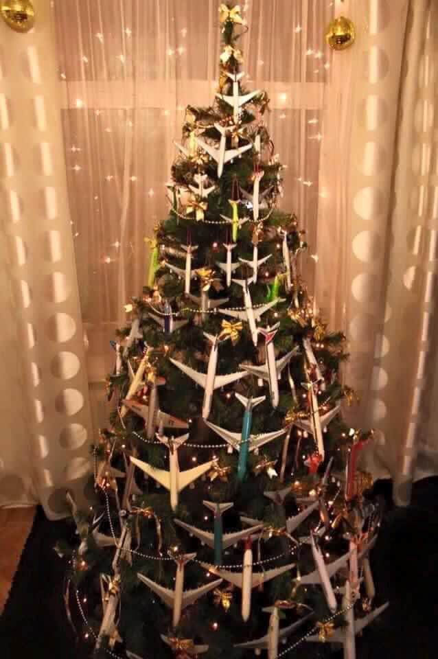 Airplane Christmas tree. Fly home safe - Airplane Christmas Tree. Fly Home Safe Christmas Tree Christmas