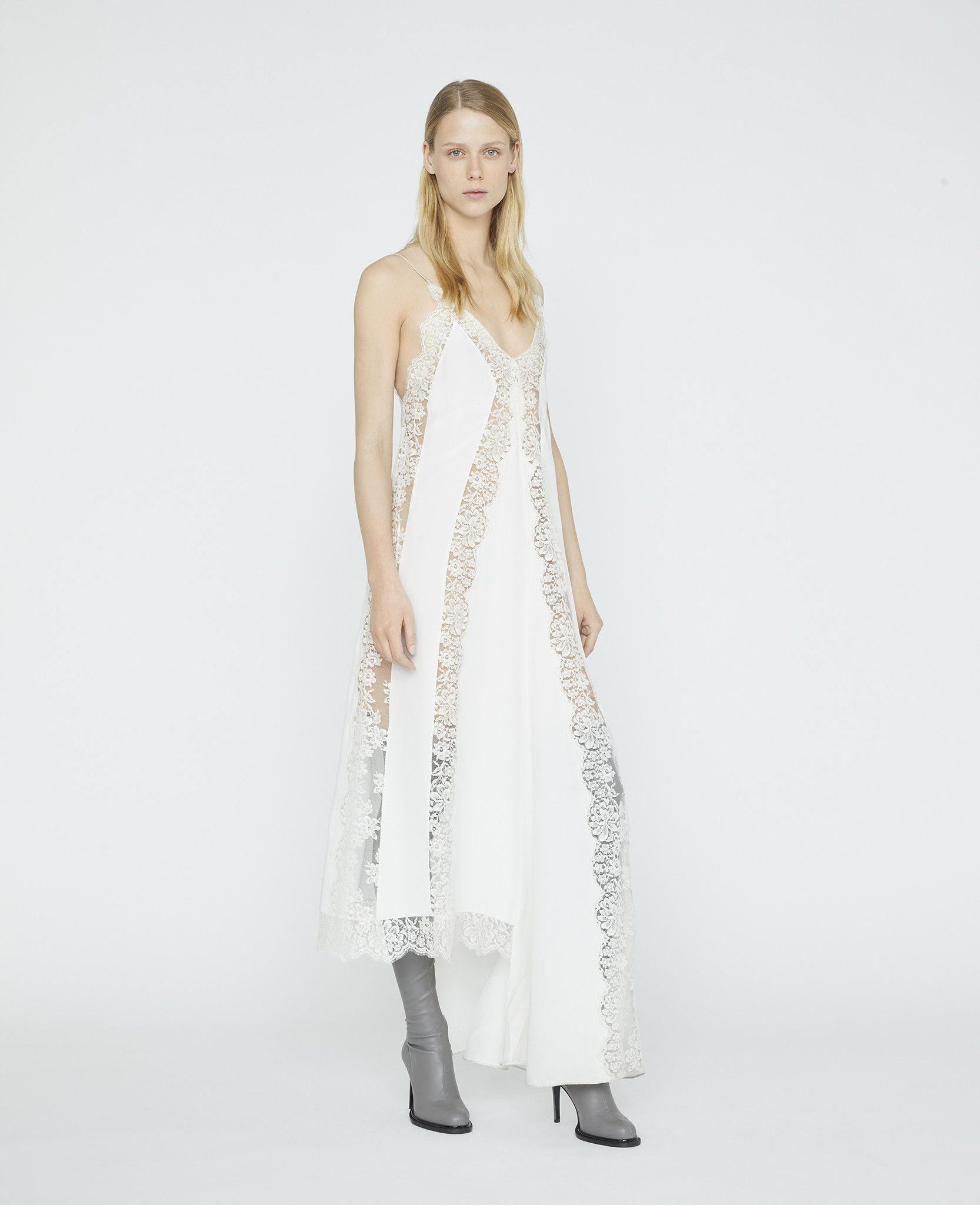 Angie Lace Dress Stella Mccartney Lace Evening Dresses Elegant White Dress Women Dress Collection [ 2048 x 1666 Pixel ]
