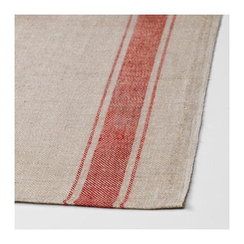 IKEA VARDAGEN Beige, RED Dish towel | Ikea in 2019 | Dish ...