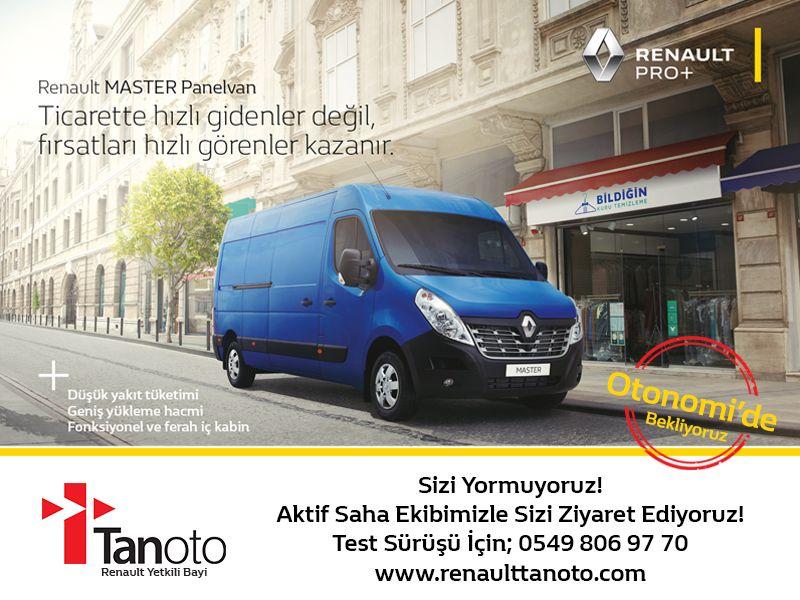 Sizi Yormuyoruz! Aktif Saha Ekibizle Sizi Ziyaret Ediyoruz! Test Sürüşü İçin; 0549 806 97 70 www.renaulttanoto.com 1. Giriş B2 Blok Otonomi – Ankara