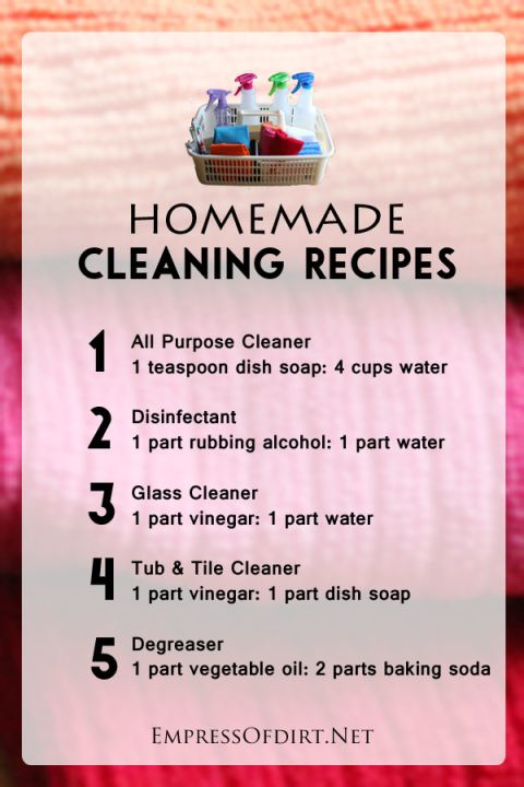 Make a Home Cleaning Kit (Free Printable) | Cleaning ...