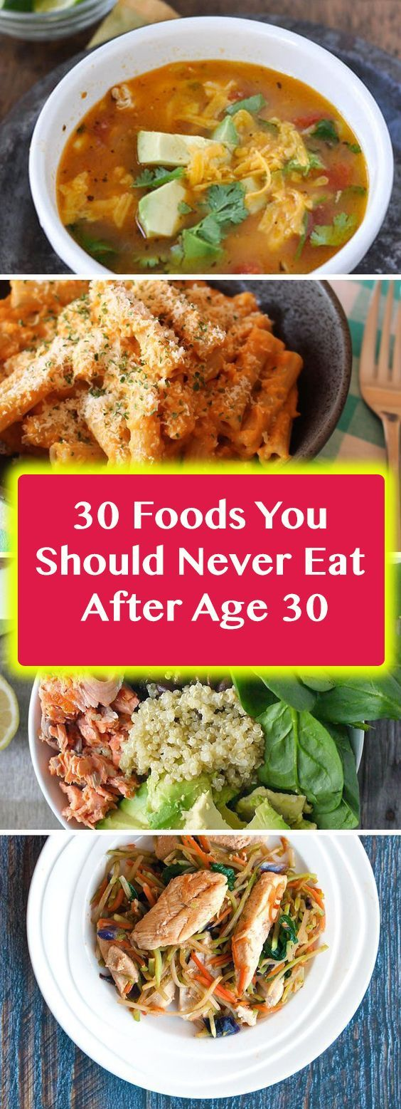 30 Foods You Should Never Eat After Age 30 abendessen gesund 30 Foods You Should Never Eat After Age 30        30 Foods You Should Never Eat After Age 30
