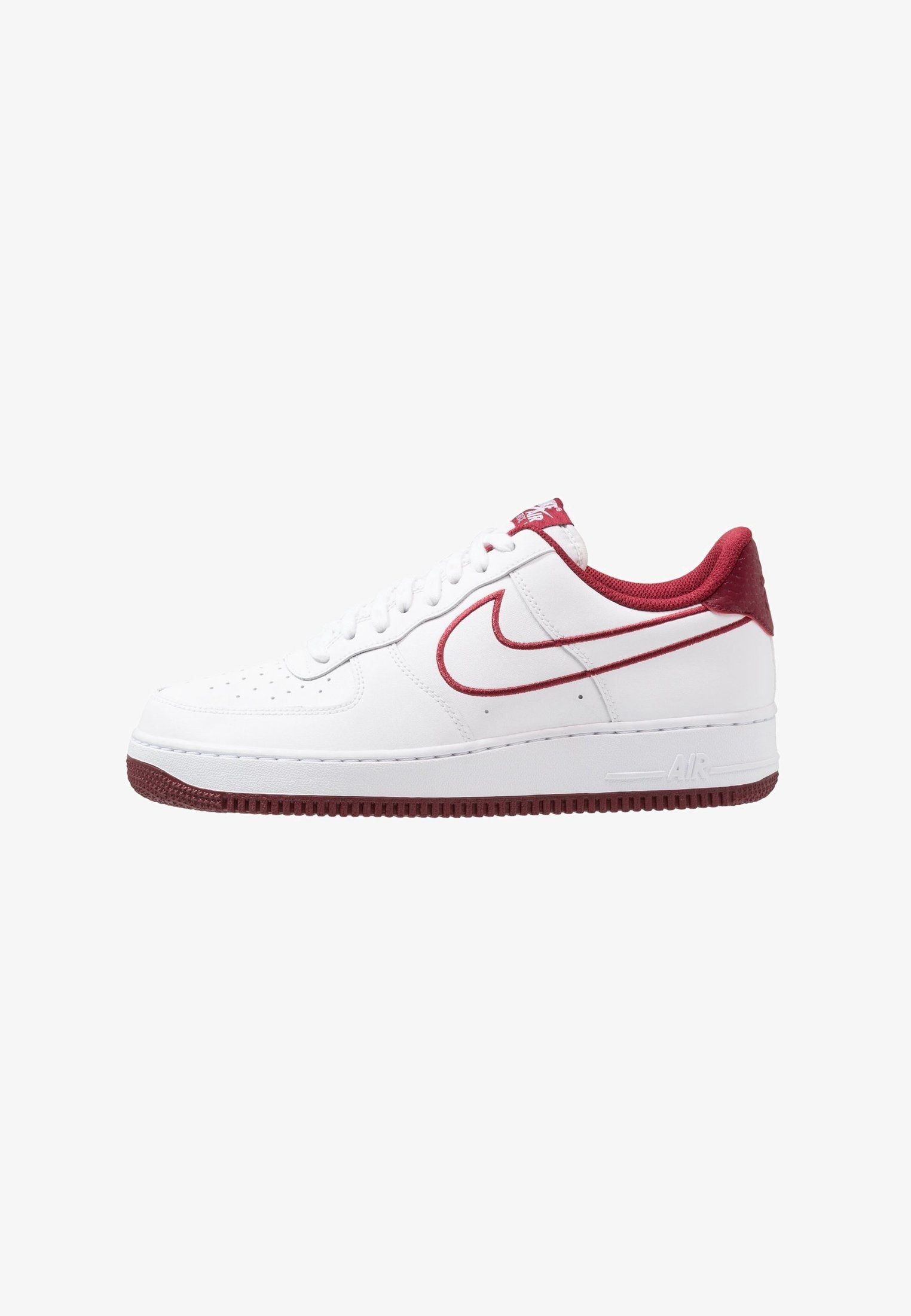 grand choix de a73db 47d3a AIR FORCE 1 07 - Sneaker low - white/solar red/granite/dust ...
