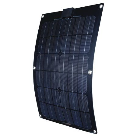 Fultyme Rv Semi Flex Solar Panel 12v Walmart Com Solar Panels Monocrystalline Solar Panels Flexible Solar Panels