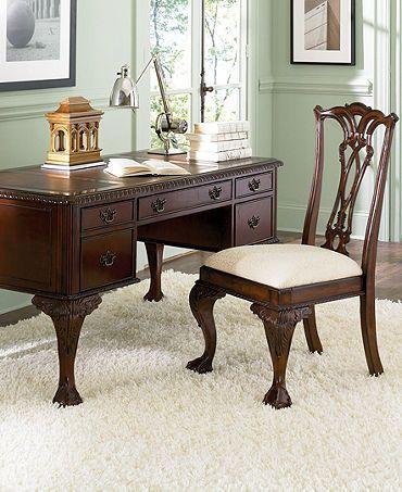 Miraculous Macys Com Ball Claw Home Office Furniture Reg 1 698 00 Machost Co Dining Chair Design Ideas Machostcouk