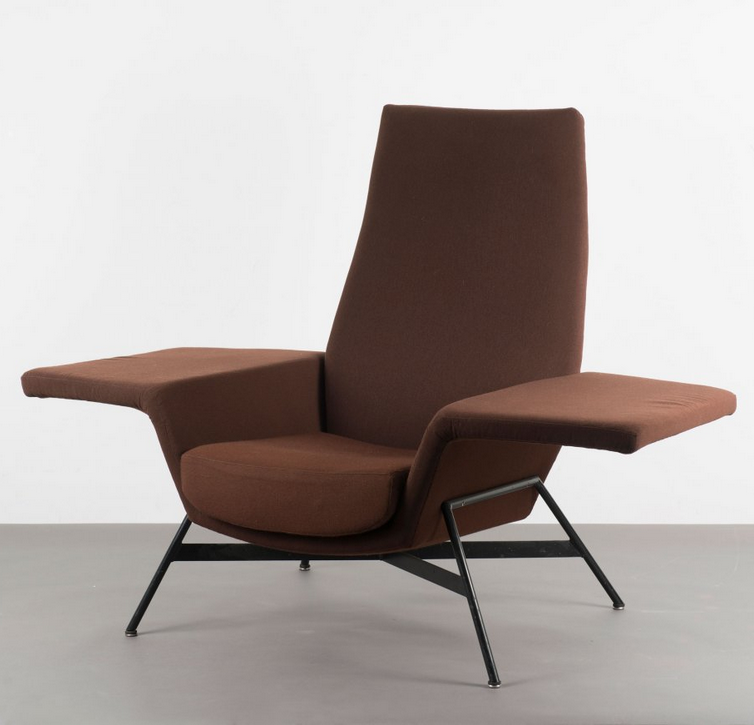 Otto Kolb Lounge Chair For Walter Knoll 1961