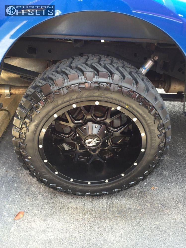 11 2013 F 150 Ford Leveling Kit Dropstars 645b Black