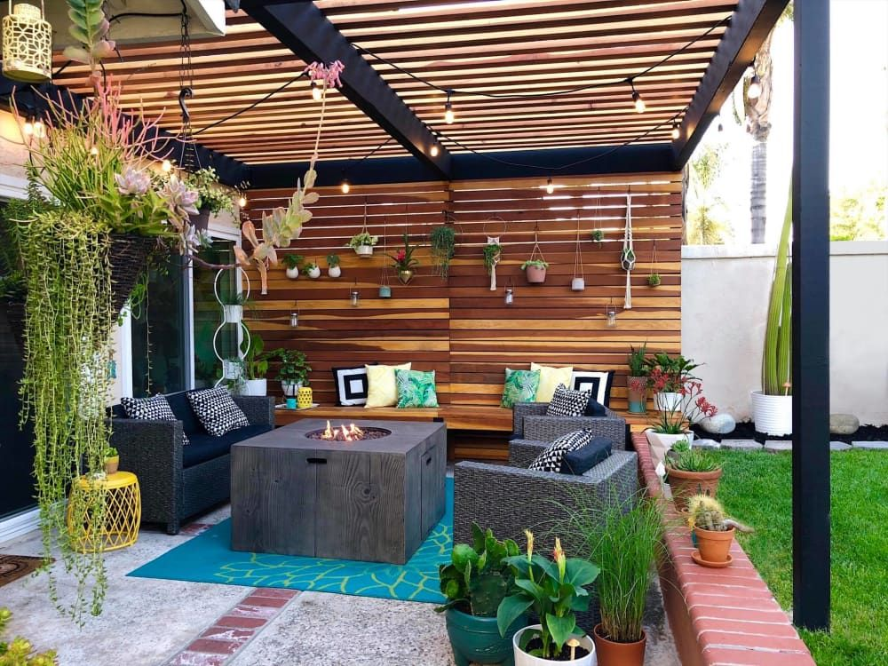 This Home S Diy Backyard Pergola Is One Of The Coolest Outdoor