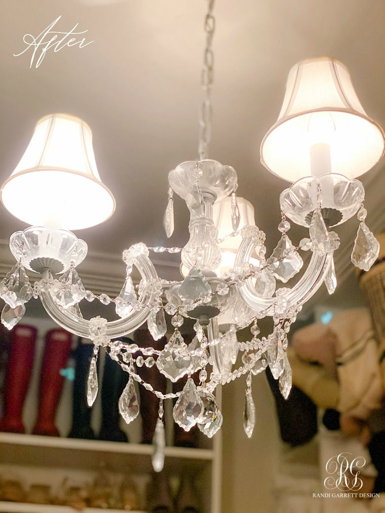 How to Clean a Crystal Chandelier Simple chandelier