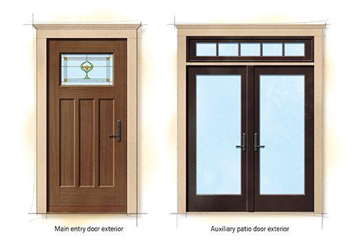 Craftsman Bungalow Doors
