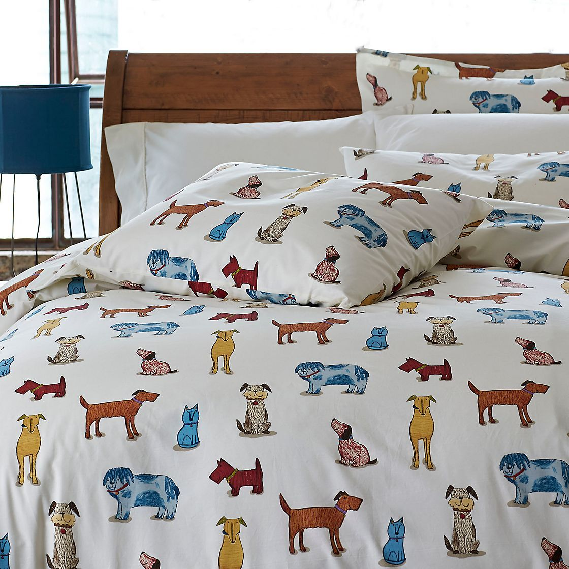Dog Bedding For Kids Dog Pounds Percale Sheets And
