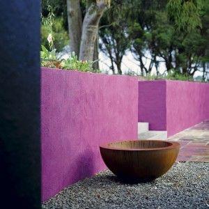 Peindre un mur de jardin inspiration en couleurs for Peindre mur couleurs