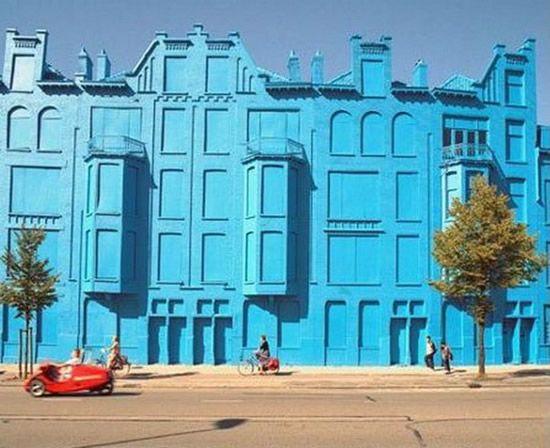 Amazing Blue Building Of Rotterdam Great Ideas