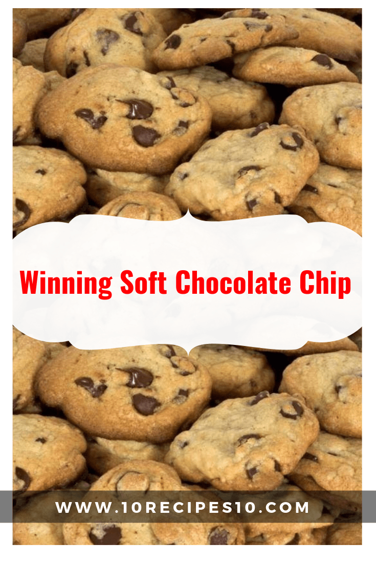 Winning Soft Chocolate Chip 10recipes10 Chocolate Chip Cookies Gourmet Chocolate Chip