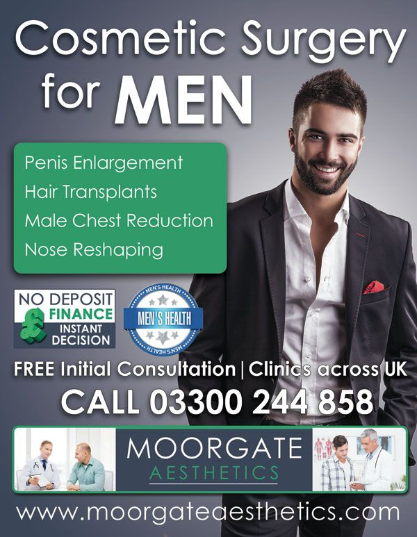Male cosmetic surgery penis