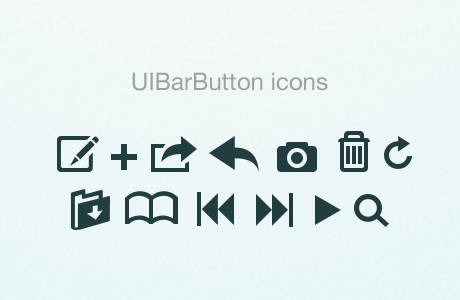 GUI elements & icons