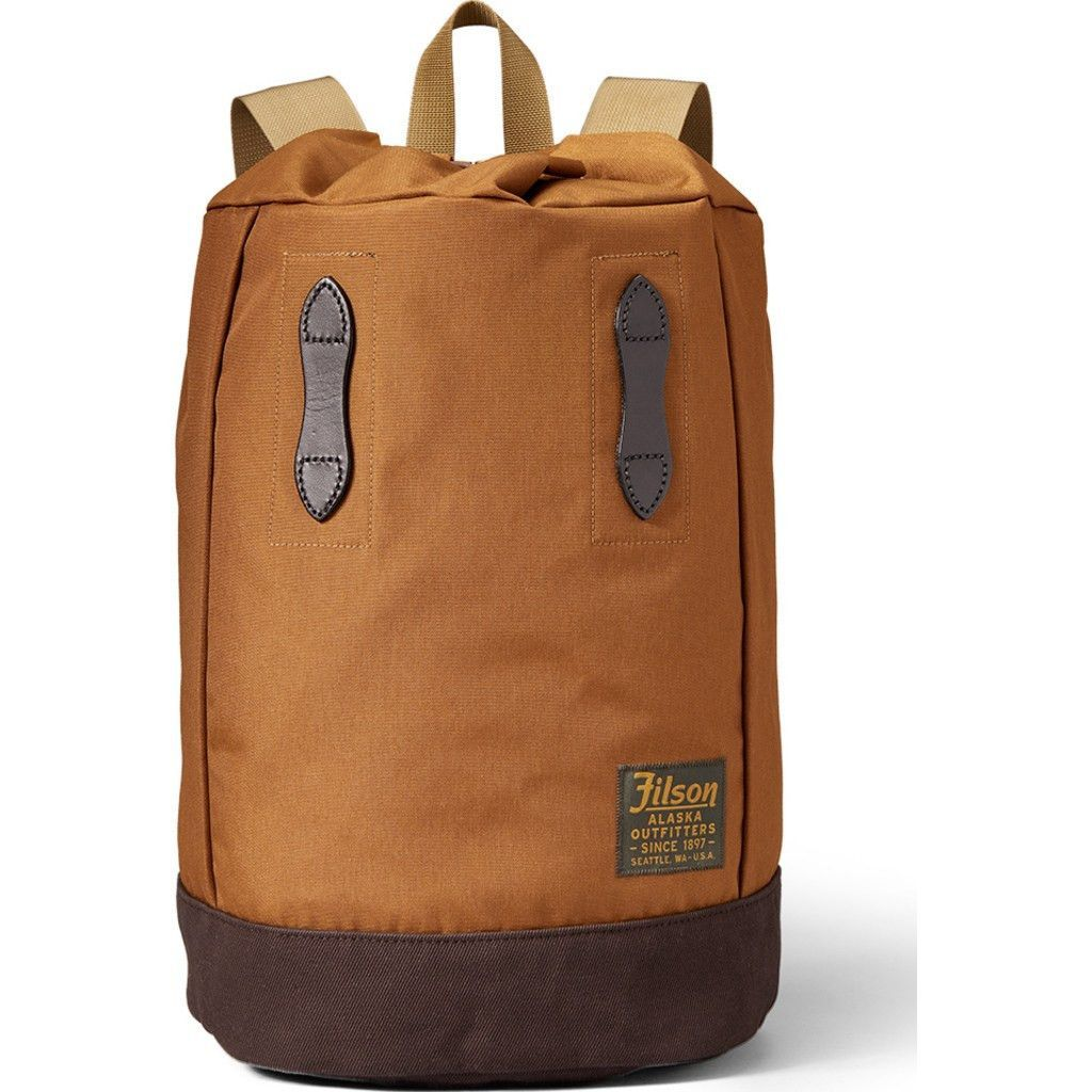 Filson Small Day Pack Backpack Whiskey Filson Waterproof Rucksack Backpacking Packing