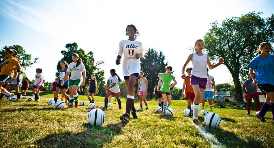 Nike Girls Soccer Camp Sacred Heart University Girls Soccer Soccer Camp Nikes Girl