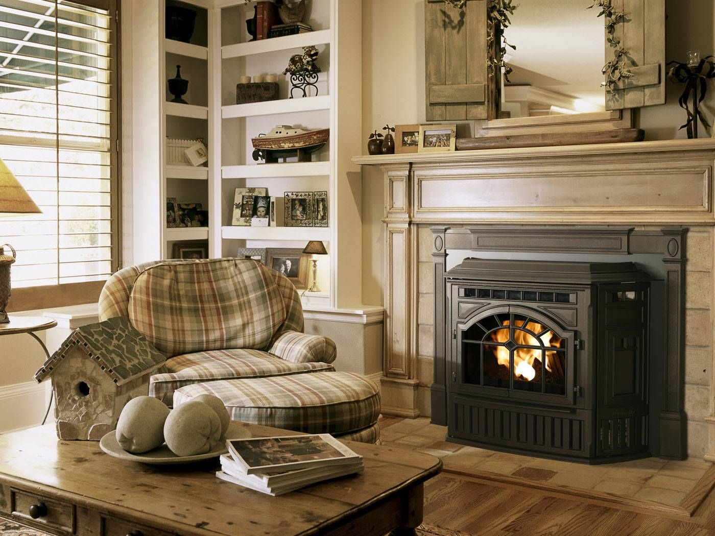Replace The Stone With Marble And Darken The Wood U003c3. Stove FireplaceWood FireplaceFireplace  InsertsGas ...  Replace Fireplace Insert