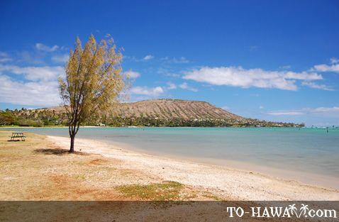 Beach in Hawaii Kai