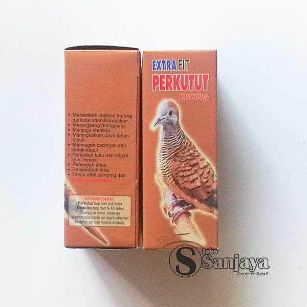 Extra Fit Perkutut Probiotik Dari Sari Tumbuhan Burung Kapur Probiotik