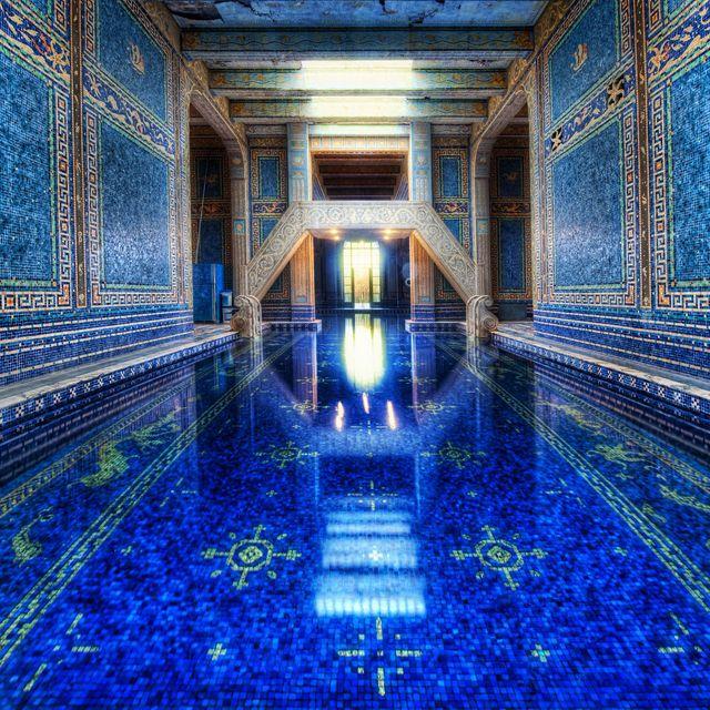 San Simeon Apartments: Roman Pool @ Hearst Castle, California