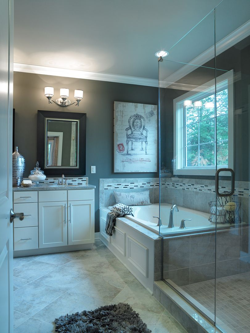 Energy Smart Homes Community Developer Evansville In Louisville Ky With Images Traditional Bathroom Bathroom Design Model Homes