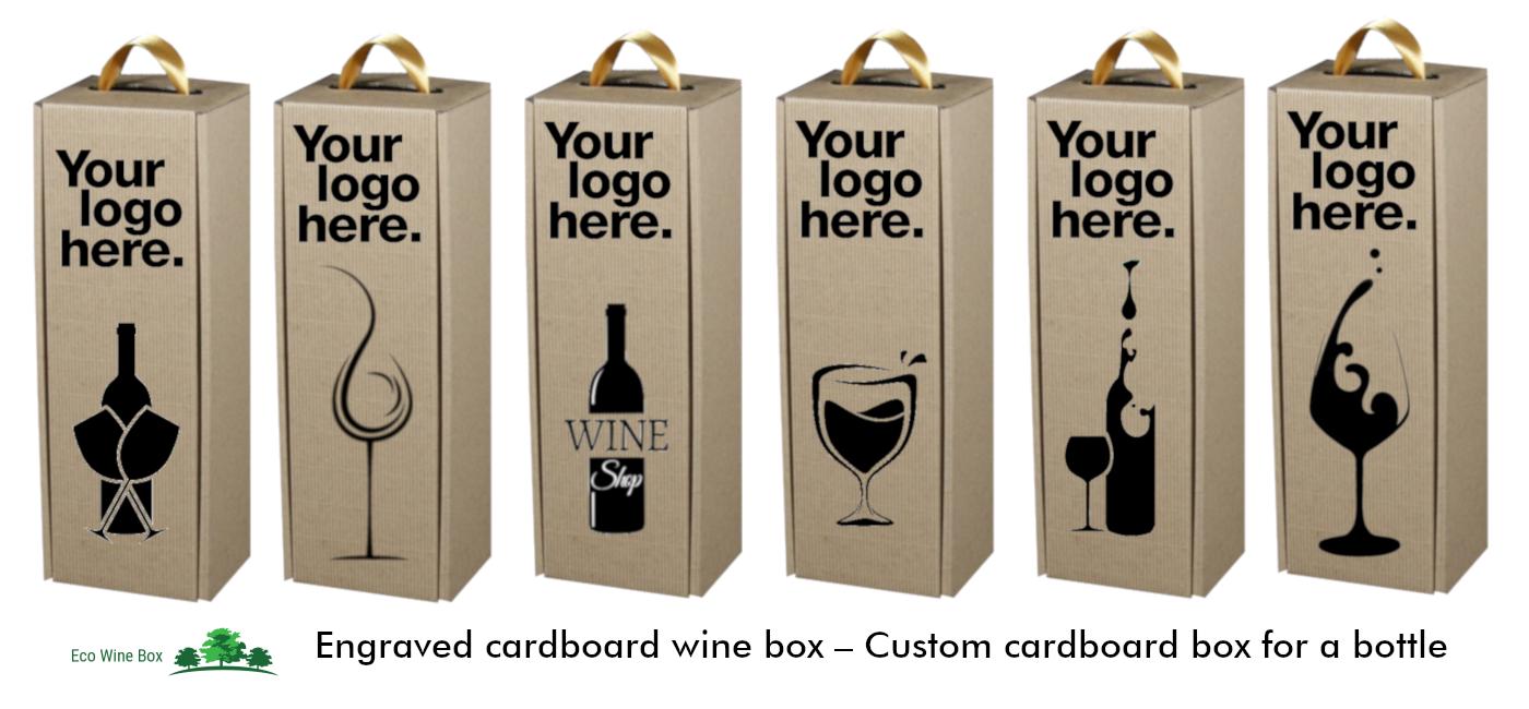 Bottle Eco Wine Carrier Cardboard