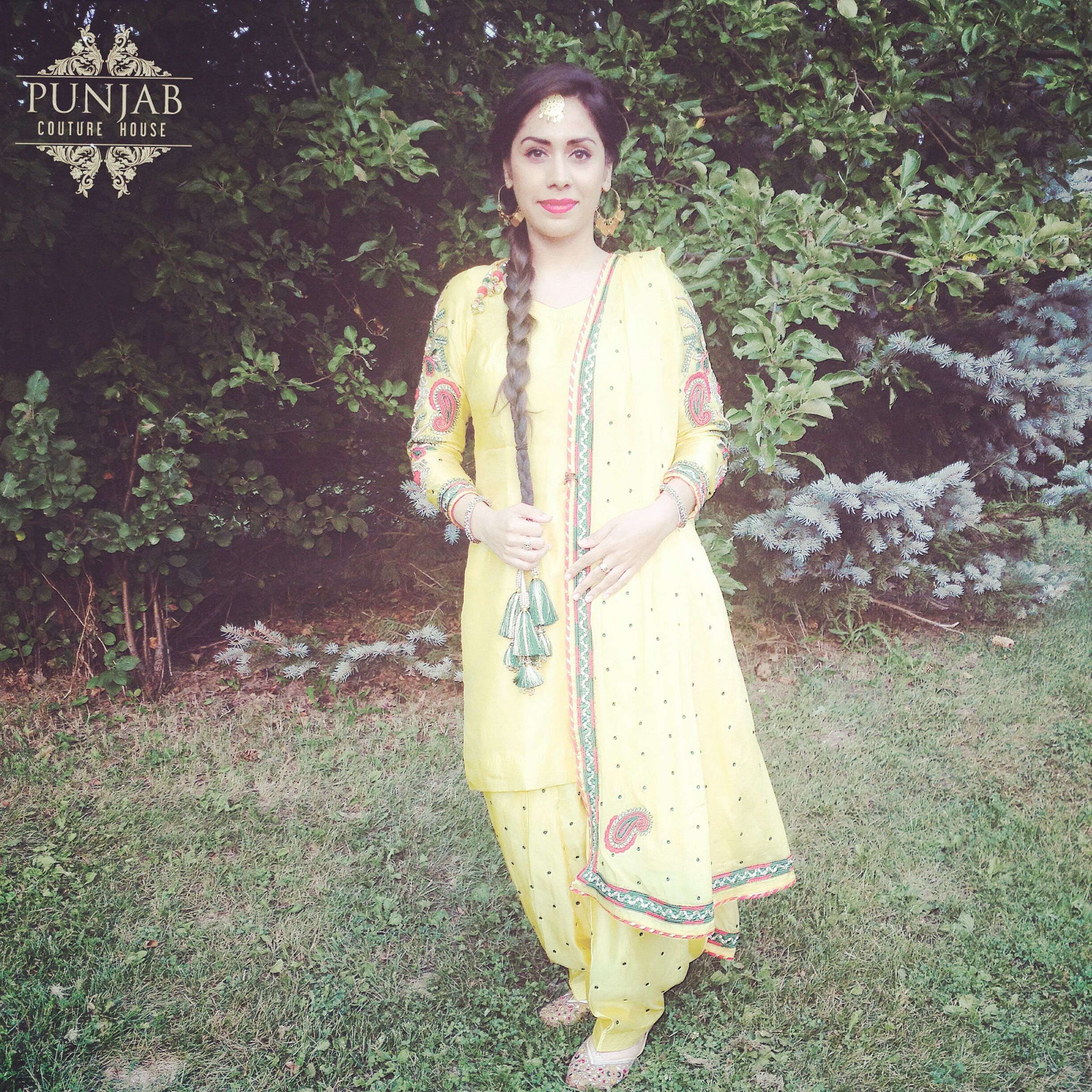 Traditional Outfits: Perfect for ladies sangeets and mehndi parties! Email us to get more info @ punjabcouturehouse@gmail.com