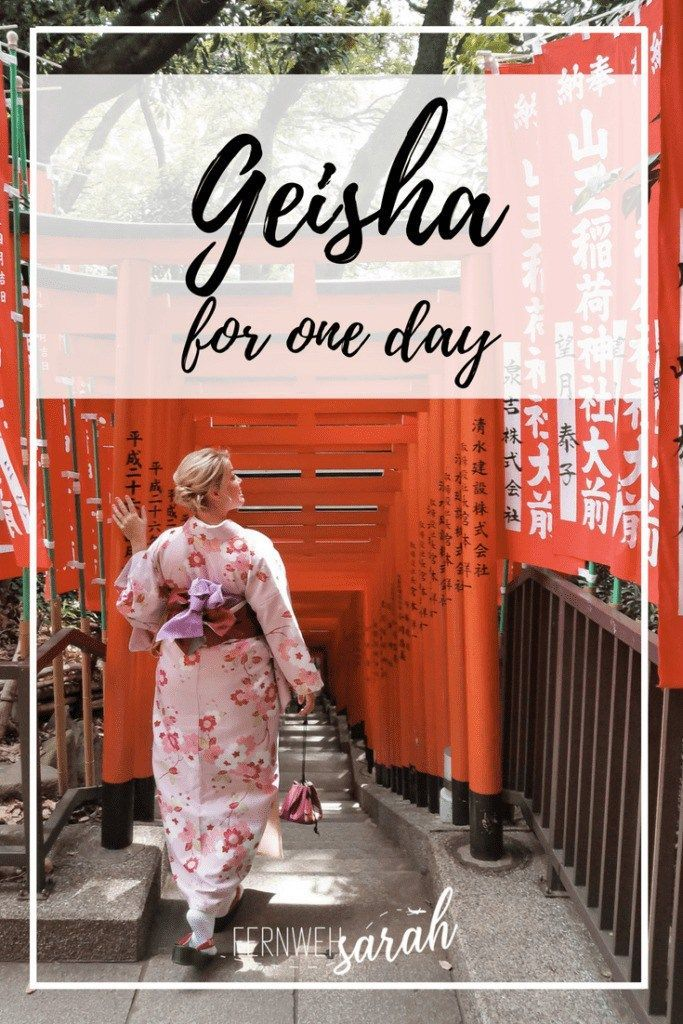 Did you ever dream of turning into a beautiful geisha for one day and stroll around Japan in a Kimono? Well, I tried Kimono Rental Yae in Tokyo and I got some tips for you what you absolutely need to do! #geisha #japan #kimono #kimonorental #tokyo #jap