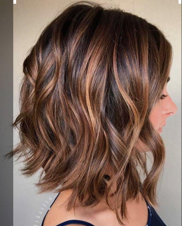 Highlights Lowlights Hair Styles Shoulder Hair Short Hair Styles