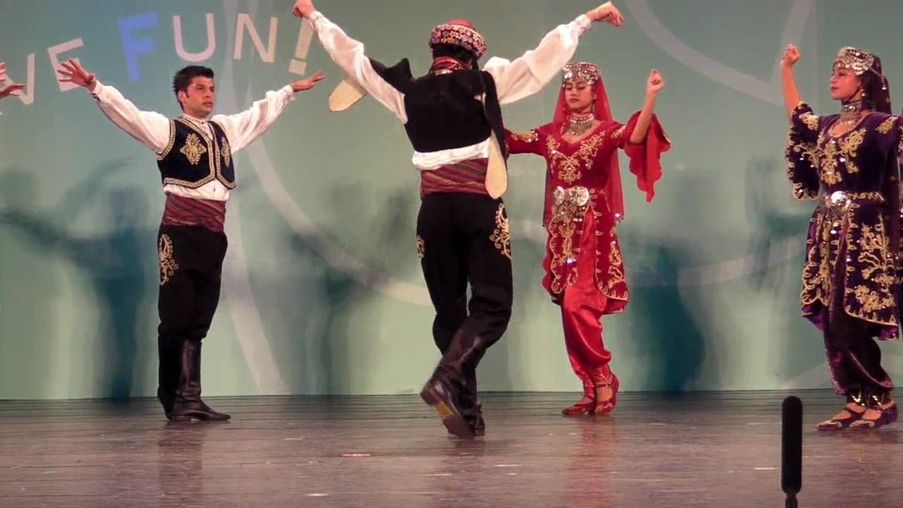 (Hacettepe University Children Folk Dance Group)Turkey folkdance-Brave w...