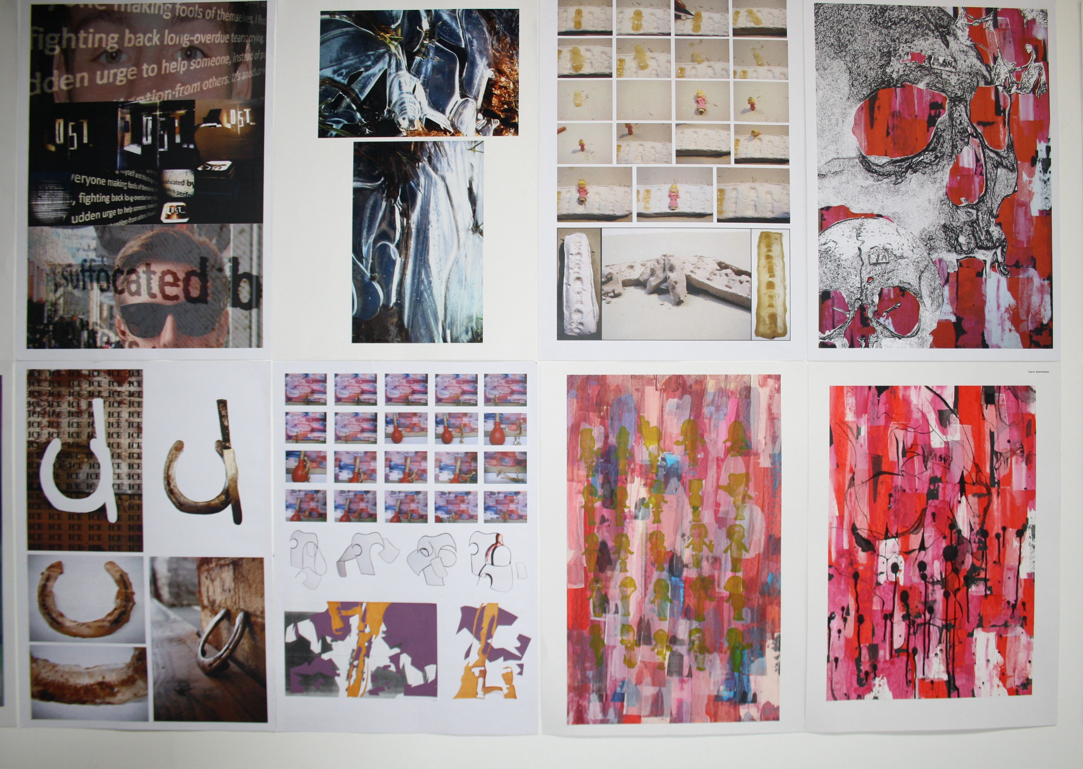 Student work from folio accepted for Duncan of Jordanstone ...