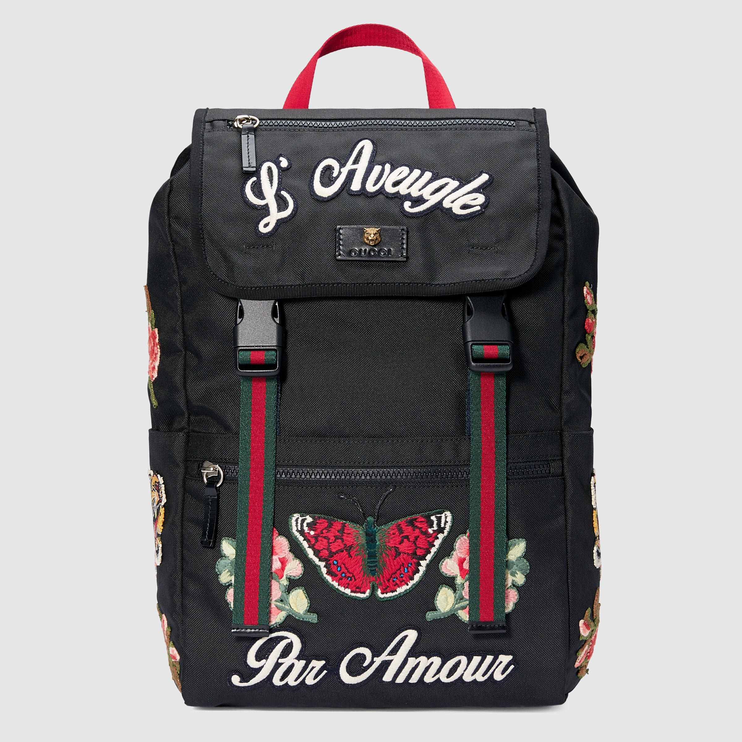 Gucci Backpack Embroidery