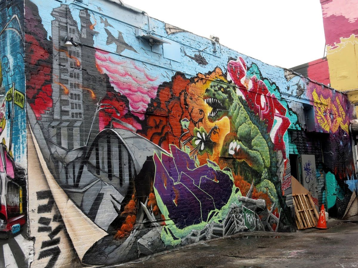 Street Art Project, by Google Cultural Institute Street